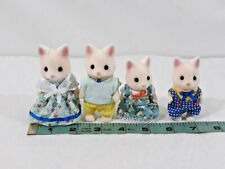 Sylvanian Families SILK CAT FAMILY Epoch Japan Calico Critters ~ Ships FREE