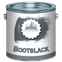 Lausitzer Farbwerke traditionelle Bootsfarbe Yachtlack & Yachtfarbe Bootslack