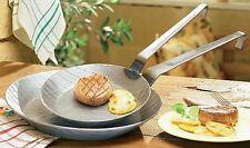 Pfannen-Set 2-tlg Gastro Traditionell Eisen geschmiedet  20cm u. 28cm - 860222