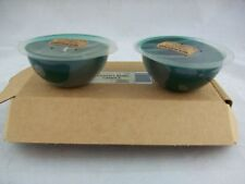 Longaberger Candle Dessert Candles Set of 2 Herbal Garden Nip Nib
