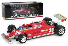 Brumm R368 Ferrari 126CK Turbo Monaco GP 1981 - D Pironi 1/43 Scale