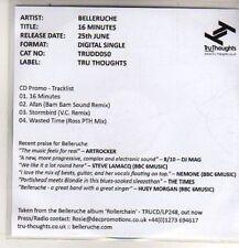 (DB645) Belleruche, 16 Minutes - 2012 DJ CD