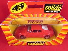 Solido - BMW M1 - Red - 1209 - 1.43 - Nr Mint - Fast Postage