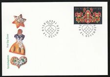 Norway 1996 Fdc Christmas Issue - Horizontal Pair