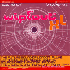 Wipeout XL Future Sound of London Chemical Brothers Daft Punk Orbital Techno CD