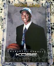 KOBE BRYANT #1 Draft Pick Rookie Card RC Charlotte Hornets Lakers 5 Rings 2 MVP