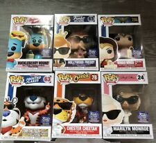 Funko Pop Hollywood Exclusives Lot of 6 Freddy, Tony, Chester, + Carrying Case