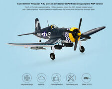 BRUSHLESS F4U Corsair 800mm Airplane RC PNP ESC Motor Servo A-RTF PNF Park Plane