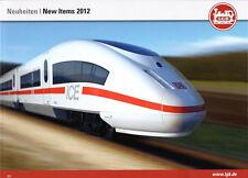 LGB Traccia IIm – novità prospetto – New items 2012 & PIKO Traccia G-scale News 2012