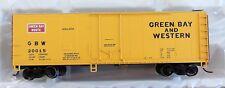NEW ATLAS HO SCALE GREEN BAY & WESTERN 40' PLUG DOOR BOXCAR