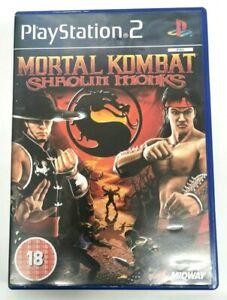 Mortal Kombat Shaolin Monks PlayStation 2 PS2 Game FREE P&P