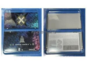New Nintendo 3DS Kisekae Cover Plates 065 3D Monster Hunter Cross X pokemon