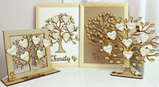 ****Personalize Wooden Family Tree.****ideas Christmas*Birthdays*Anniversary