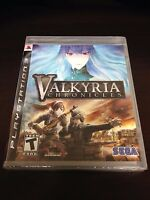 Valkyria Chronicles (Sony Playstation 3, 2008) PS3 NEW FACTORY SEALED  FREE SHIP