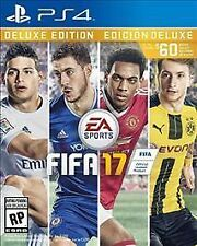 FIFA 17: Deluxe Edition (Sony PlayStation 4, 2016) Free shipping