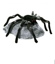 Giant Animated Jumping Spider with Sound Red LED Eyes and Motion Sensor 22in
