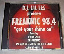 D.J.LIL LES Freaknic 98.4 Get Your Shine On CD mixtape DJ album NM/EX+ Master P+