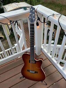 Godin A6 Ultra Cognac Acoustic Electric Guitar