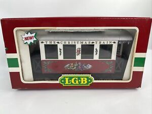 "LGB 3607 ""THE CHRISTMAS TRAIN"" G scale passenger car"