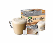 Green Mountain Coffee Vanilla Latte K-Cups 4 / 6 (24 count) and froth packets