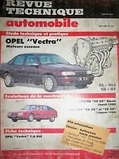 OPEL Vectra essence (CITROËN CX 20 22 25) - Revue Technique Automobile (RTA)
