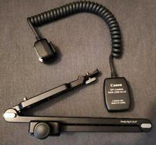 Canon OC-E3 Off Camera Shoe Cord (2') with Really Right Stuff WPF-1 L-Bracket