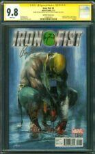 Iron Fist 1 CGC 2XSS 9.8 Dell'Otto Variant Roy Thomas Perkins Defenders TV