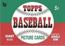 2018 Topps 80th Anniversary Wrapper Art Card #114 - 1952 Baseball