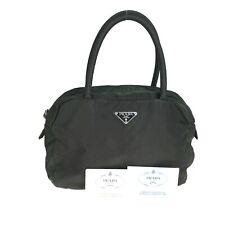 PRADA nylon tote bag mini handbag B7357 khaki used 1169-10N49