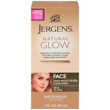 Jergens Natural Glow Face Daily Moisturizer with Sunscreen Spf 20 Fair To Medium