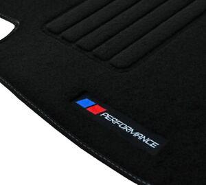 2 TAPIS SOL BMW Z4 E85 2003-2009 MOQUETTE LOGO PERFORMANCE M SPECIFIQUE