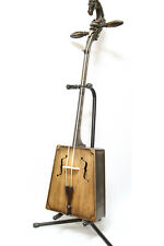 Master Grey Morin Khuur with Zeebad Carving
