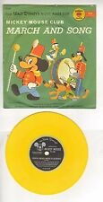 Golden Record ~ Walt Disney's Mickey Mouse Club March & Song Record ~ WH