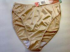Women Panties,Bikinis GELMART Size XL.XLarge Beige Satin Soft Shiny
