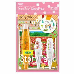 New PLUS Deco Rush Decoration Tape Pen Story Pack - Fairy Tale - DC-ST-9