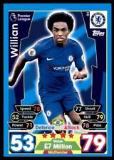 Match Attax 17/18 Willian Chelsea No. 84
