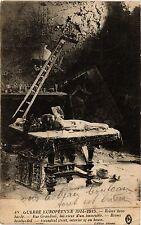 CPA MILITAIRE Guerre Européenne, Reims bombardée, Rue Grandval (315575)