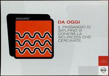 cartolina pubblicitaria PROMOCARD n.4038 NISSAN AUTOMOBILE MILANO
