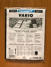 Vario 7s Black Stamp Sheets 7 Pockets Sized 33x195mm per Side