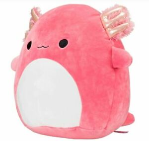 """SQUISHMALLOW AXOLOTL 12"""" INCH PINK ARCHIE PLUSH BRAND NEW RARE Stuffed Toy"""