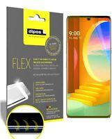 2x Schutzfolie für LG Velvet 4G inkl. Rundung 3D Full Cover Flex Folie Display