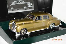 Bentley S2 1960 gold metallic 1:18 Minichamps neu + OVP 100139952