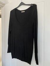 Black Mk One Long Sleeved Soft Knit Jumper Size 10