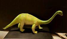 1985 Vintage Imperial Brontosaurus Dinosaur Figure Toy Green