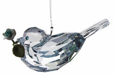 Crystal Expressions 3 Inch Rose Bird Ornament/ Sun Catcher (Parent)