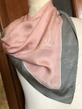 Foulard Must De Cartier Paris Scarf Carre In Seta Silk Soie Monogramm