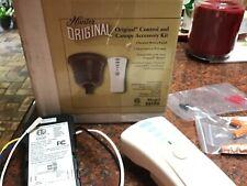 New Hunter Fan Remote Control Hunter Original Canopy Complete Color Brown