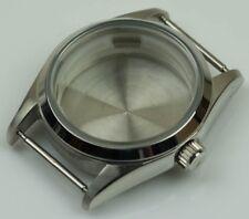 Stainless steel watch case custom build polished generic homage ETA 2824 cases