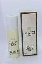 GUCCI n. 3 DEODORANTE SPRAY 125 ml Nuovo/Scatola Originale