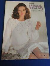 Wendy Close Harmony Knitting Pattern Book